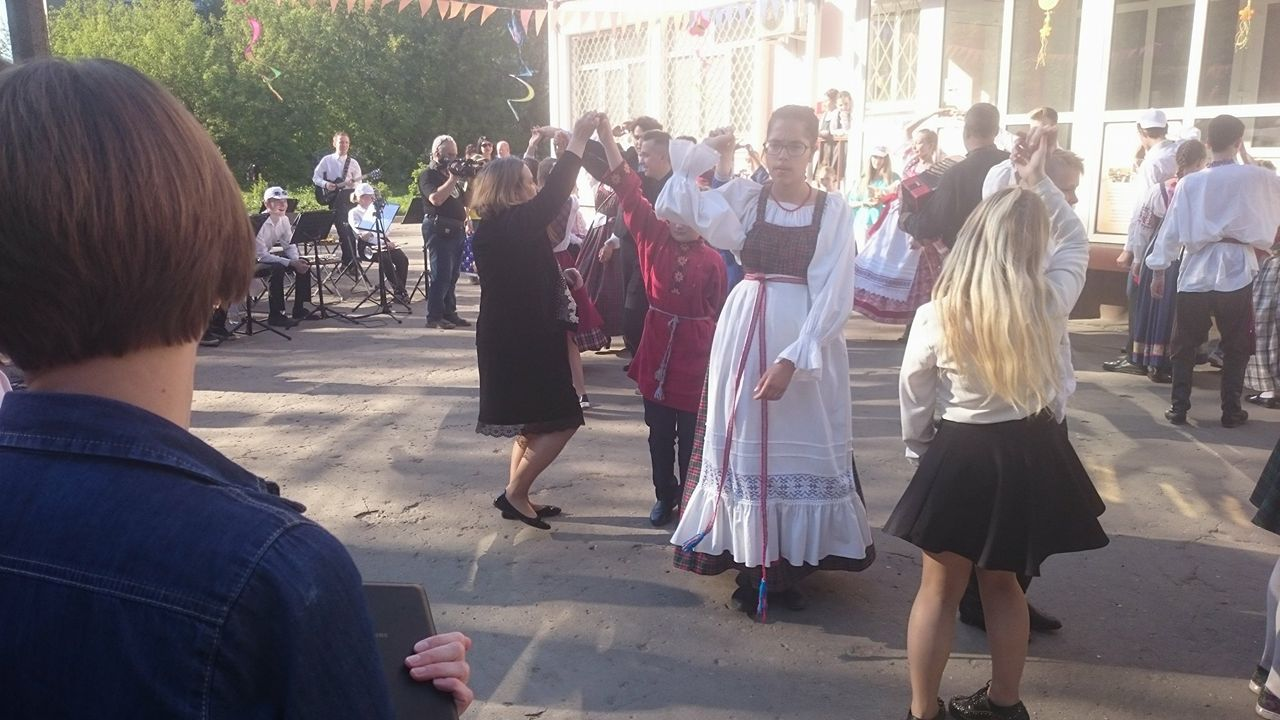 Tantse juhendas Mihkli õde Natalja