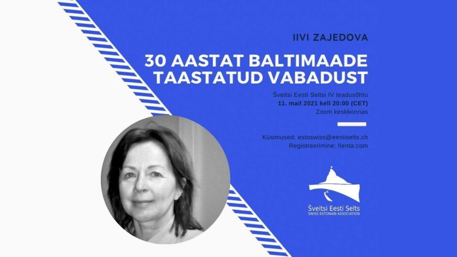 Akadeemiline õhtu – 30 aastat Baltimaade taastatud vabadust